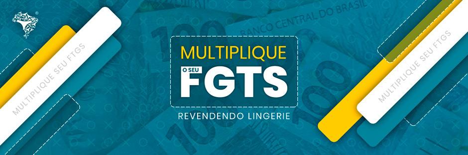 Aproveite o seu FGTS para lucrar no Lingerie BR