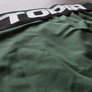 Cueca Boxer Microfibra Lisa UTOPIA Verde Escuro
