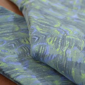 Azul e Verde Abstrato
