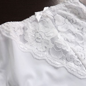 Calçola Americana Plus Size Branco