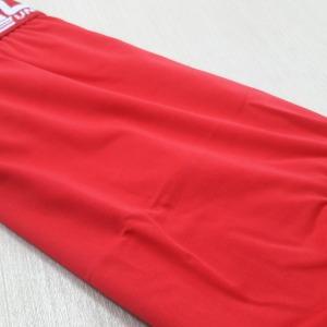 Cueca Boxer Elástico Exposto Vermelha