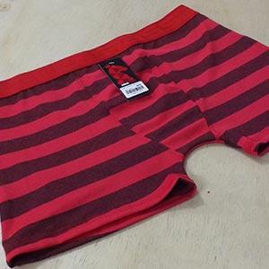 Cueca Boxer Riviera Vermelha Listrada