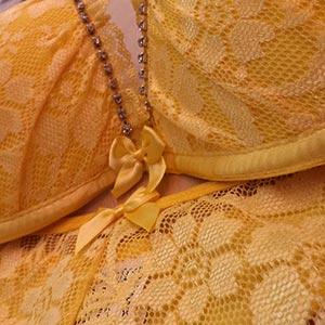 Conjunto Dani Amarelo