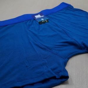 Cueca Boxer Em Fibra de Bambu Azul Bic