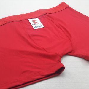 Cueca Boxer Lisa Vermelha