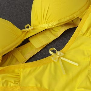 Conjunto Fê Amarelo