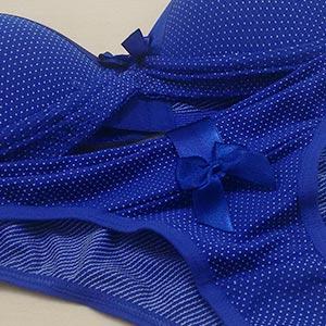 Conjunto Bolinha Azul Bic