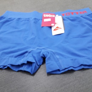 Cueca Boxer Microfibra Azul Bic Liso