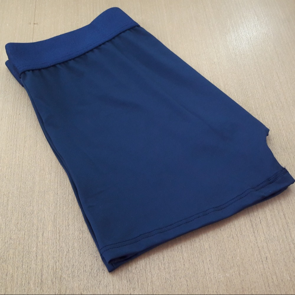 Cueca Boxer Microfibra Lisa Azul Marinho