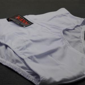 Cueca Slip Microfibra Lisa  Embutida Branco