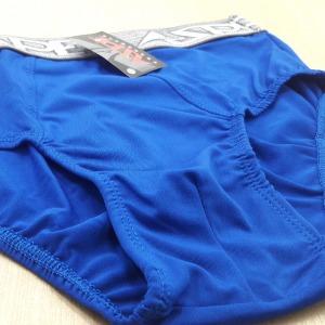 Cueca Slip Microfibra Lisa Azul Royal