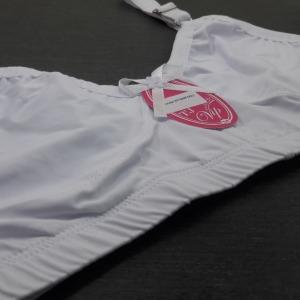Sutiã S/Bojo Plus Size Reforçado Branco