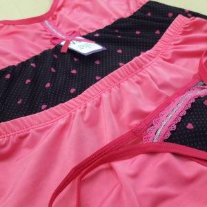 Fundo Preto com Bolinha Pink