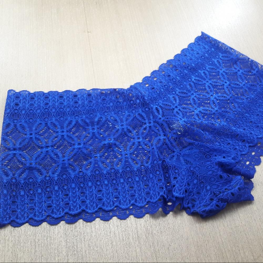 Cale�on Confort�vel em Renda Azul Bic