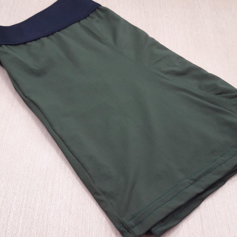 Cueca Boxer Microfibra Adulto Verde Escuro