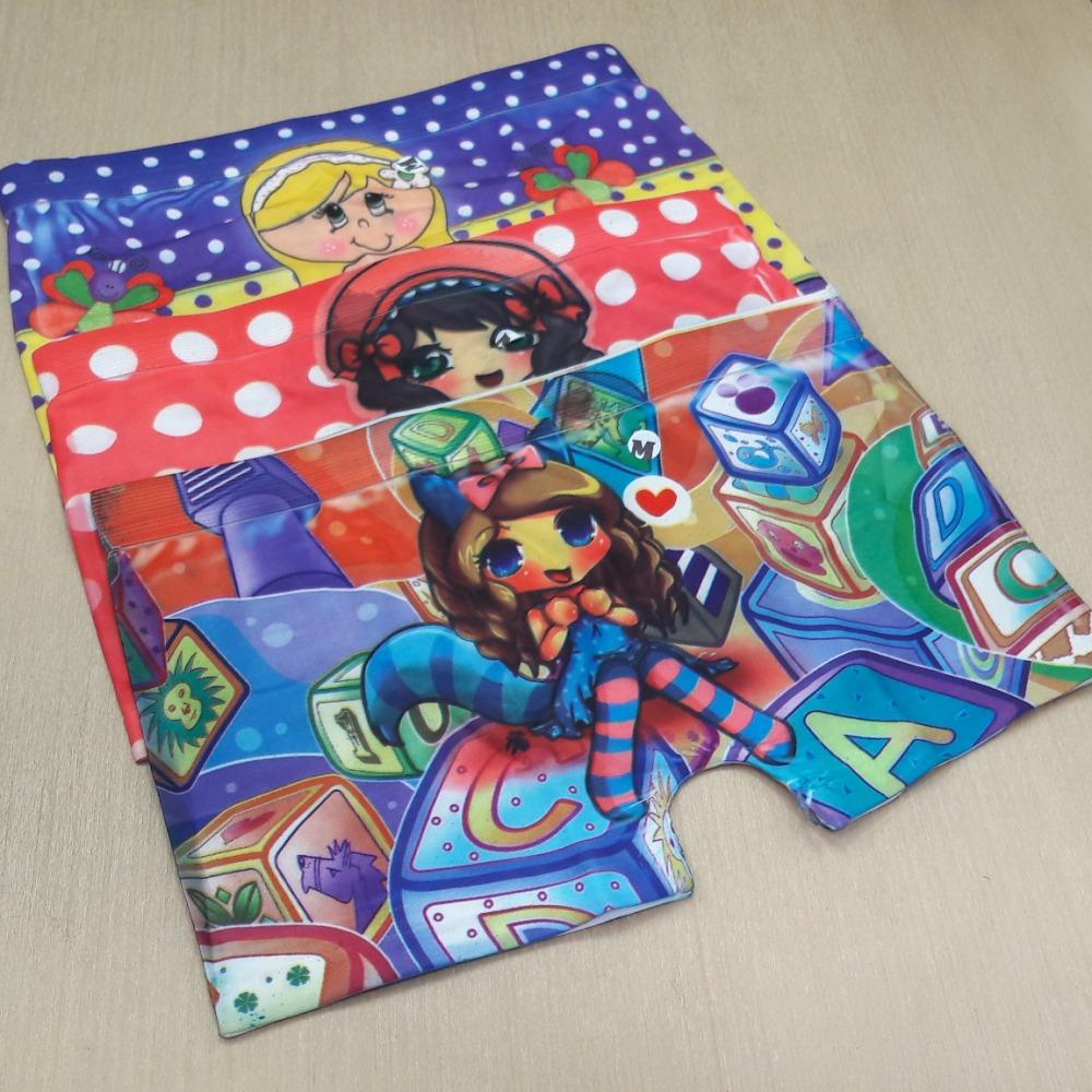 Box Infantil Feminina  Estampas Variadas
