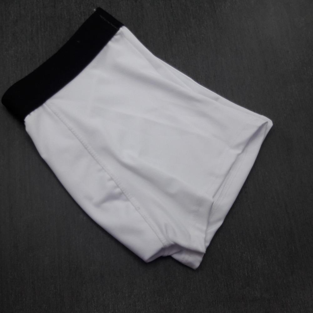 Cueca Boxer Microfibra Lisa Branco