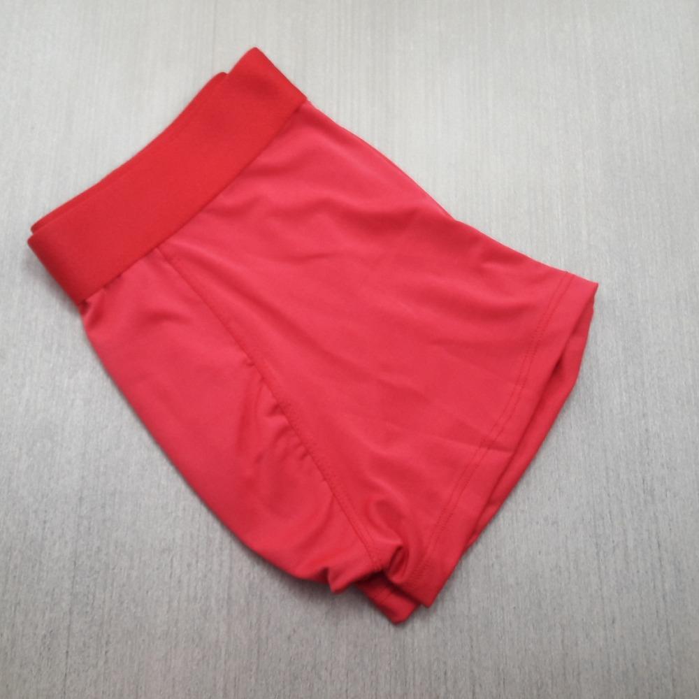 Cueca Boxer Microfibra Lisa Vermelho