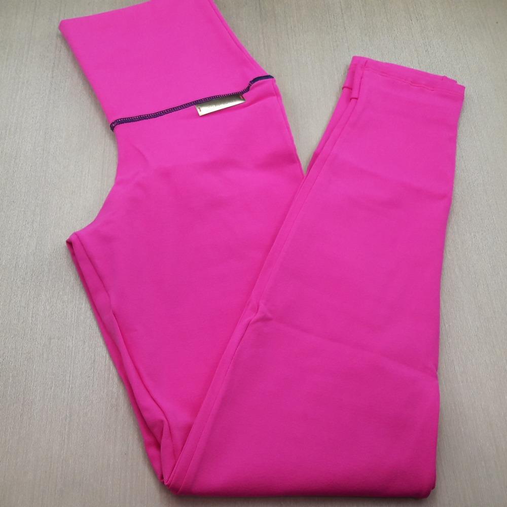 Cal�a Pezinho em Suplex de Poliamida Rosa Pink