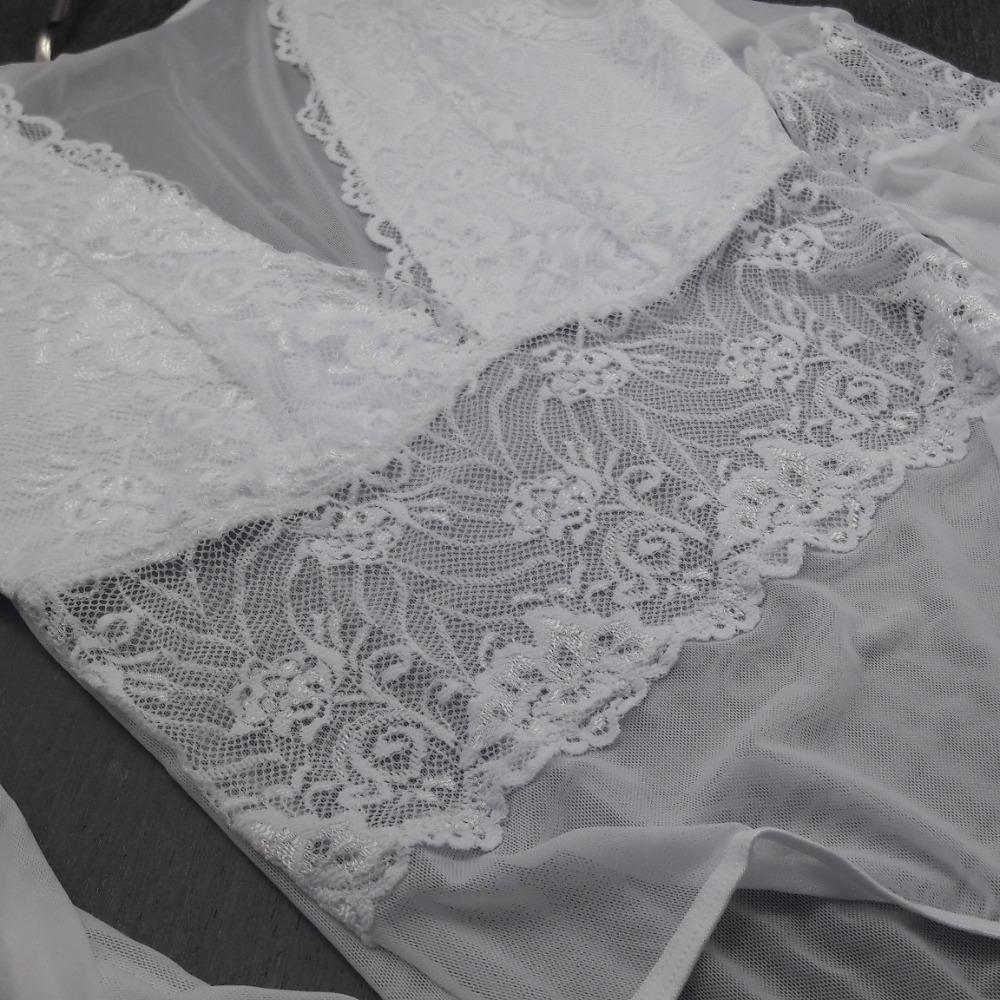 Body Kamilla Plus Size Branco