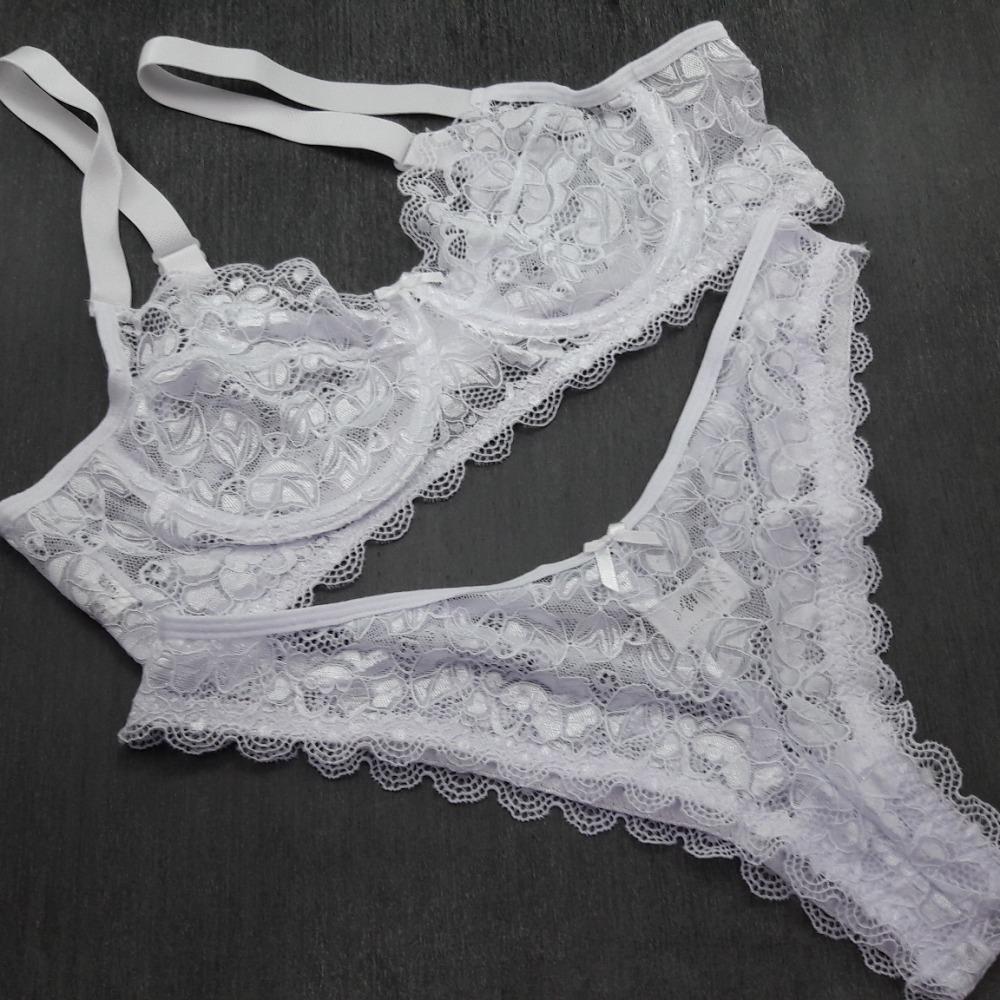 Conjunto Plus Size Renda Branco