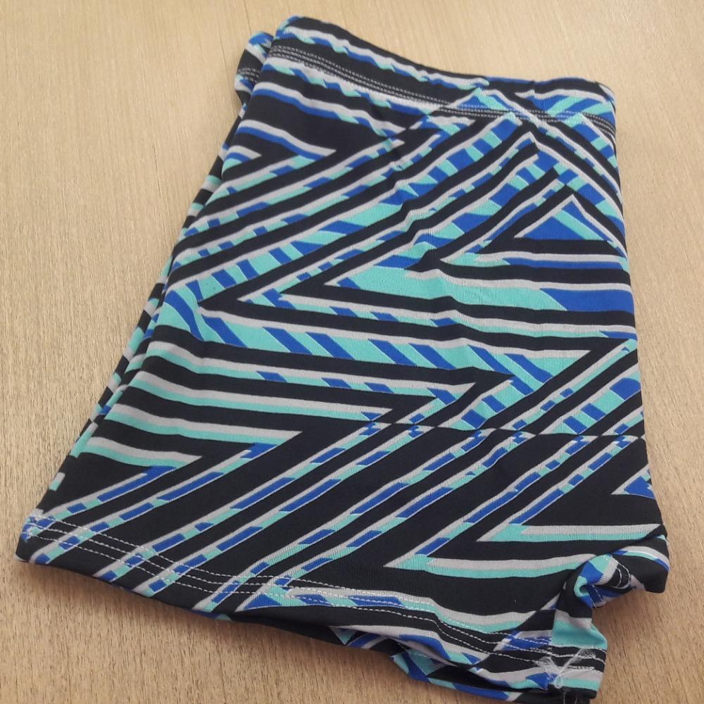 Cueca Boxer Microfibra Estampada Embutida Geométricos