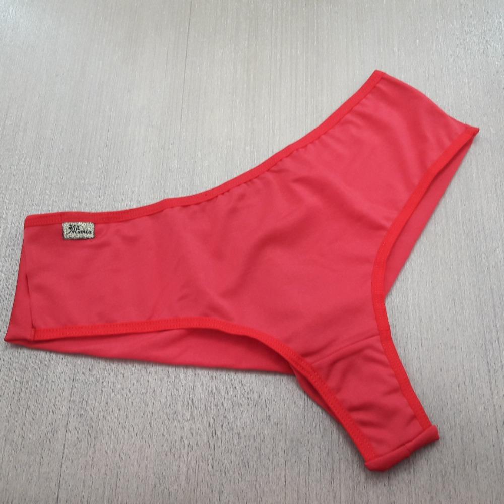Tanga Lia Conforto Duplo Vermelho