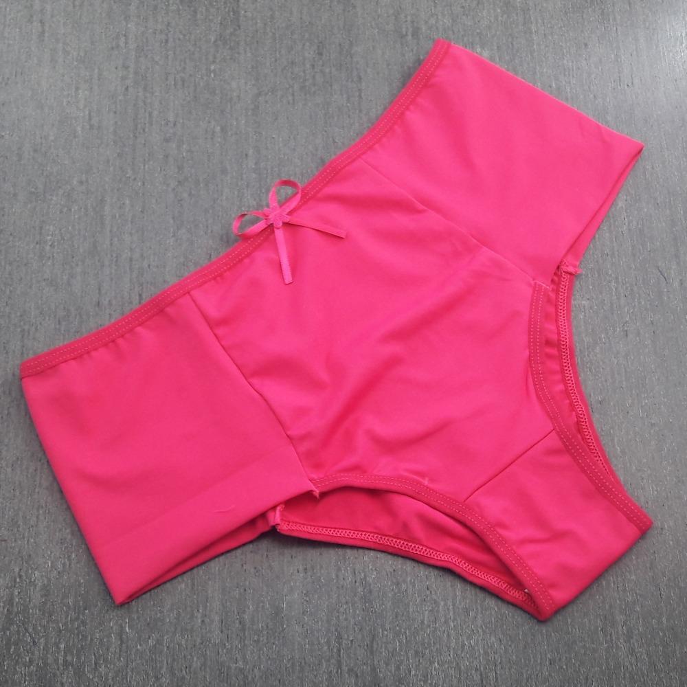 Tanga Pala Microfibra Lisa Rosa Pink