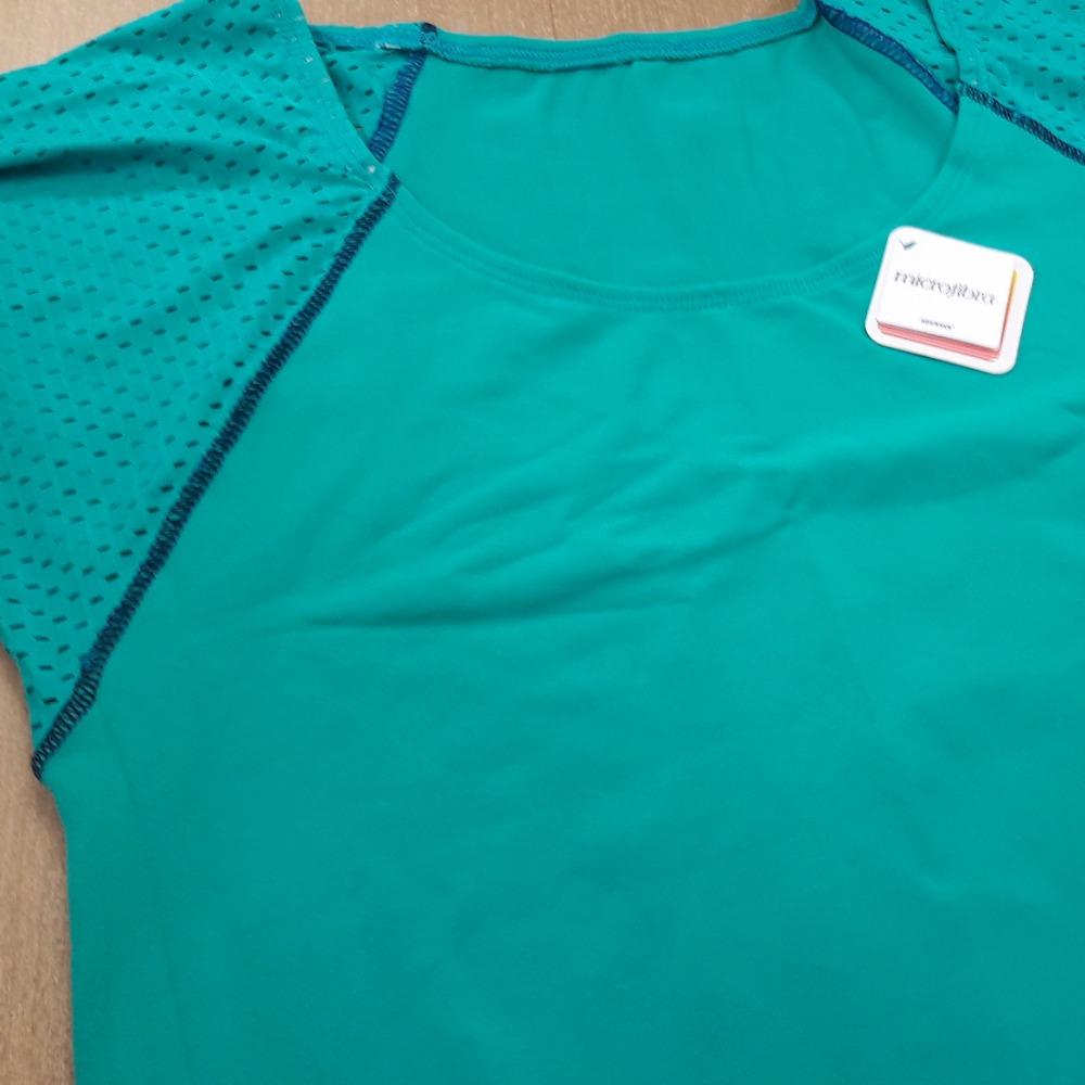 Blusa Mullet - Prote��o UV Verde