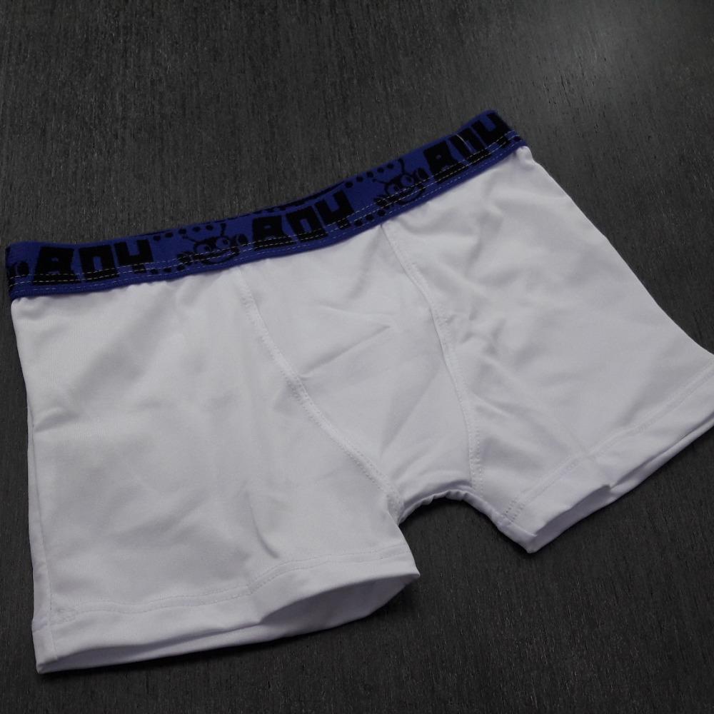 Cueca Boxer Infantil Branco