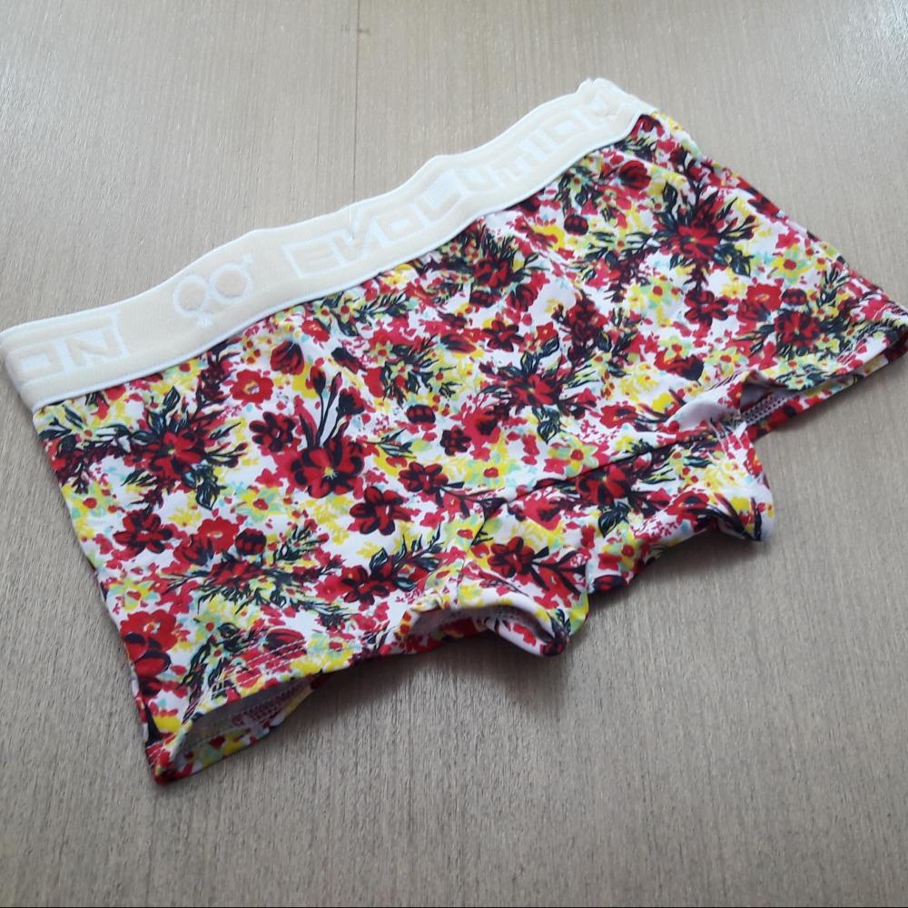 Boxer Feminina Juvenil Estampada Elástico Marfim /Estampas Variadas