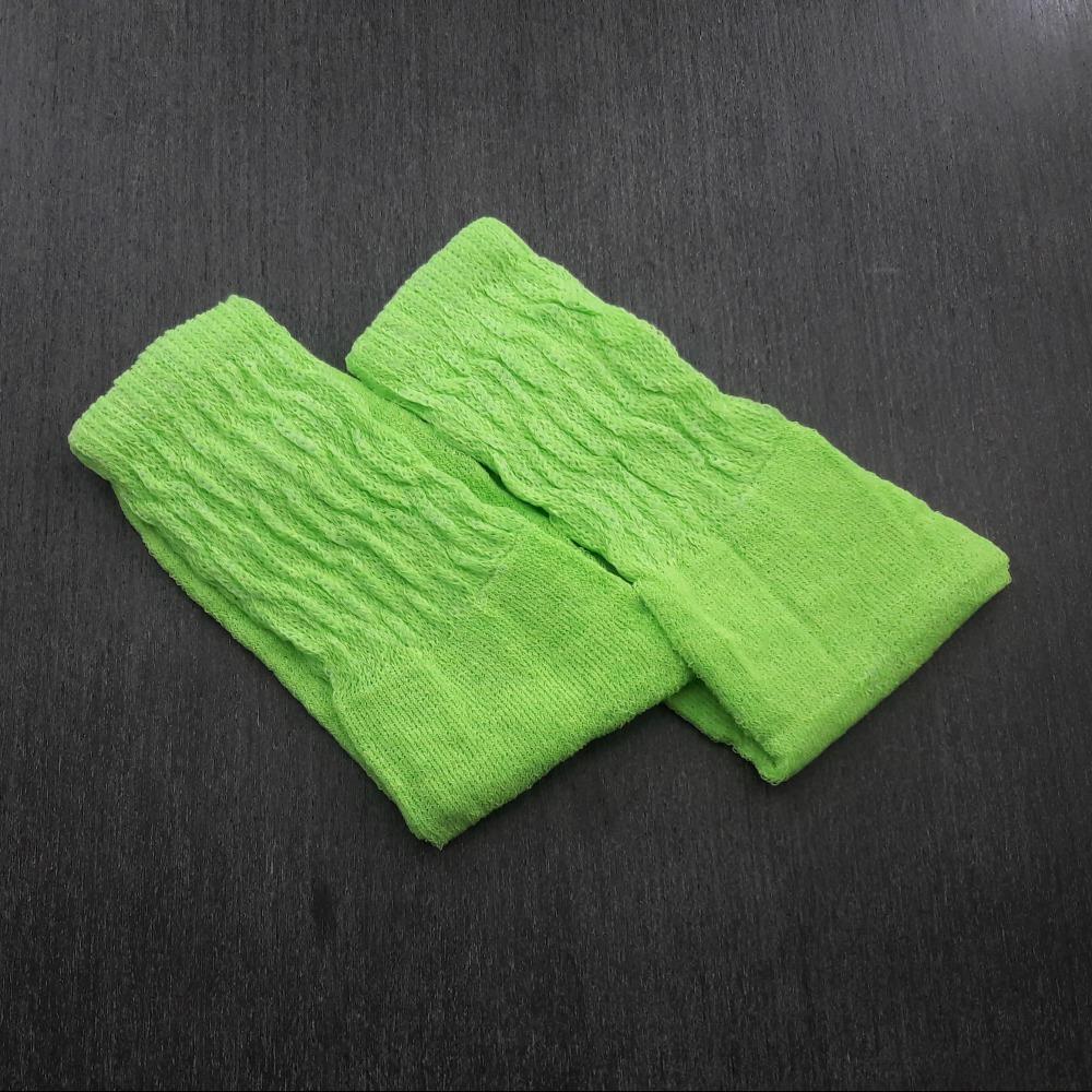 Meia Aer�bica Feminina Verde Neon