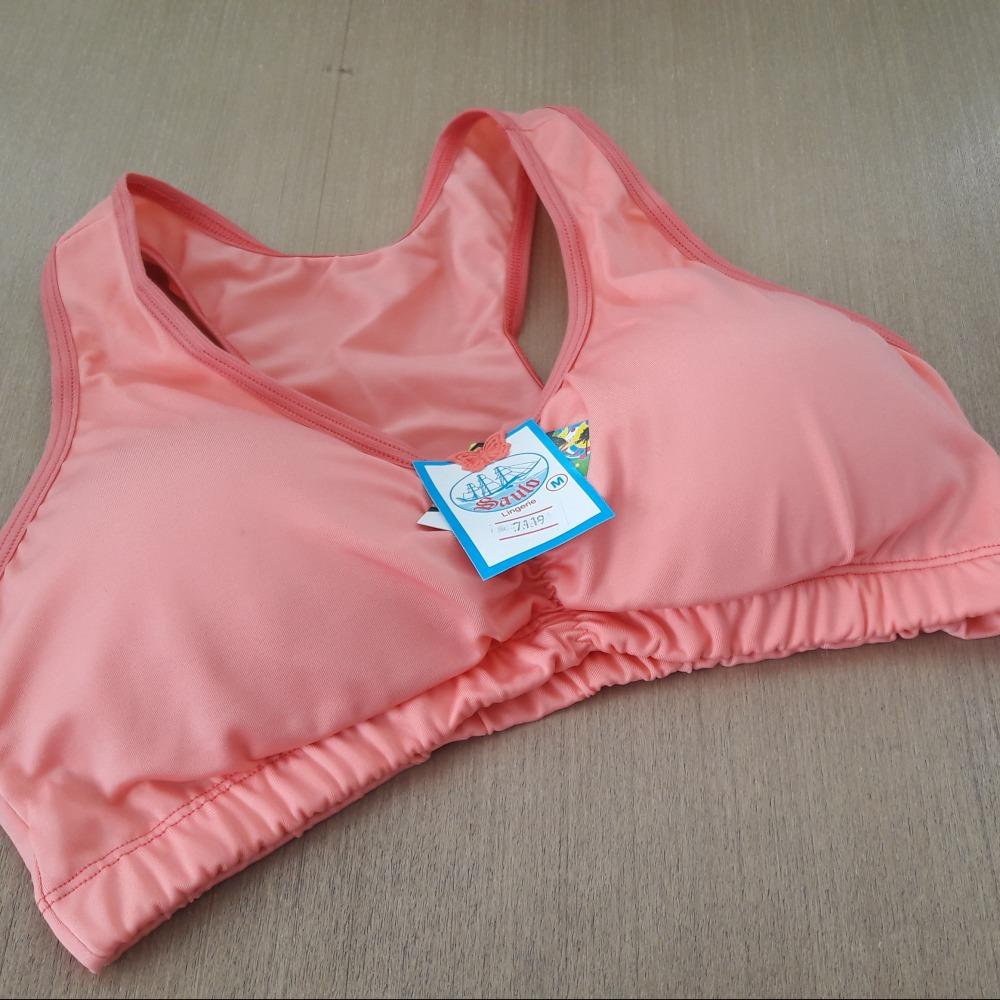 Suti� Top Camiseta Bojo Remov�vel Coral
