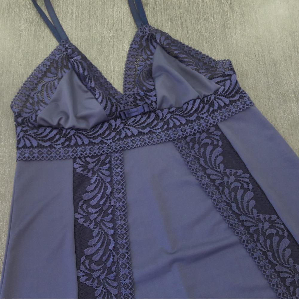 Camisola Glamour Azul Marinho