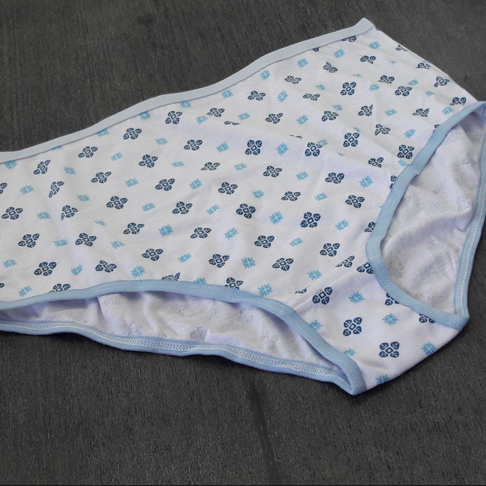 Cal�ola Plus Size  Vi�s Azul Beb�/ Estampas Variadas