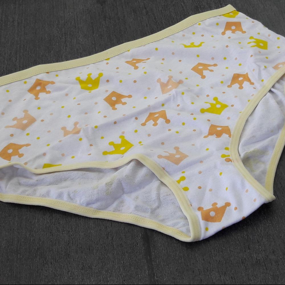Cal�ola Plus Size  Vi�is Amarelo/ Estampas Variadas