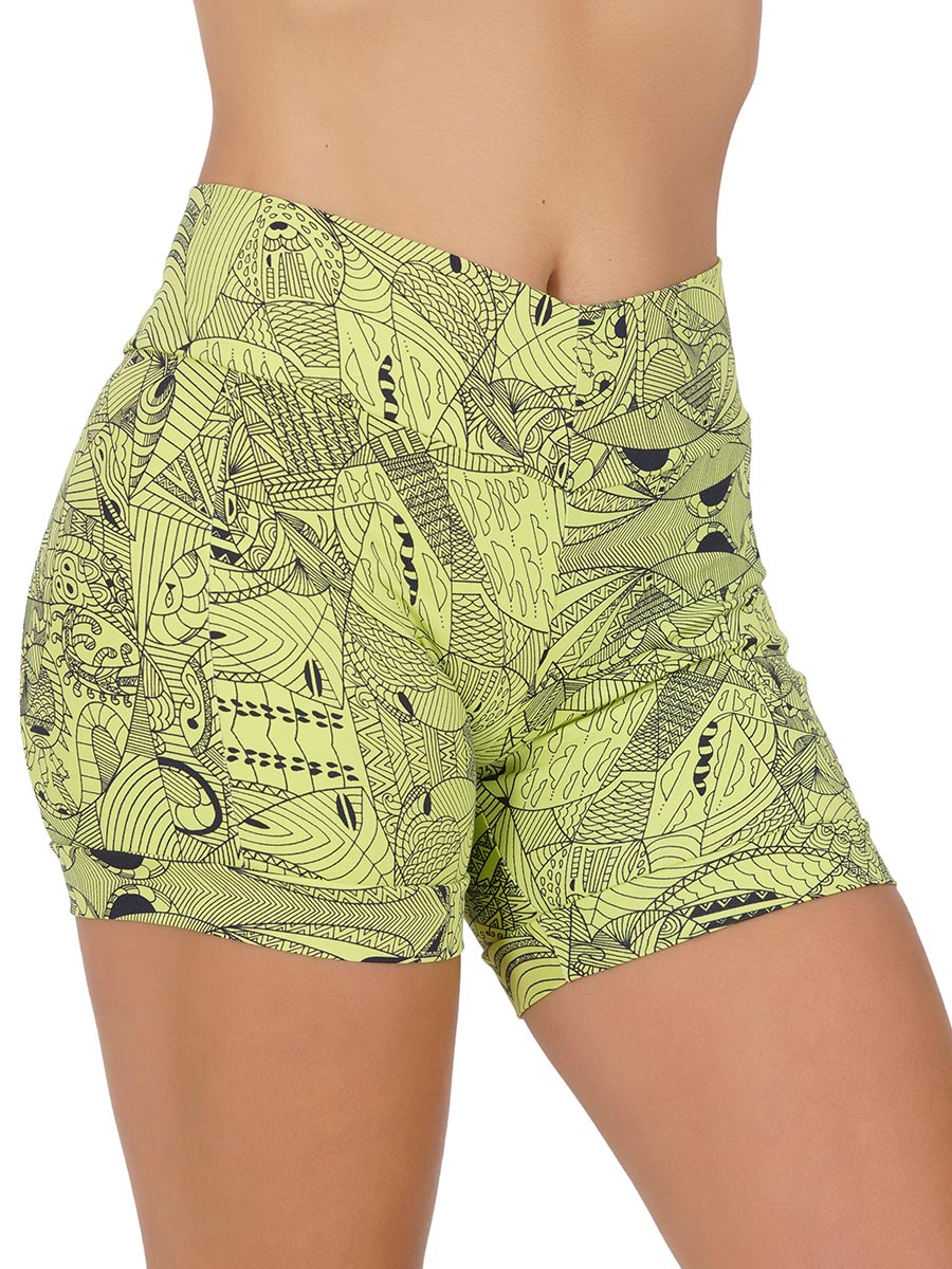 Short Fitness Suplex Sta Estampado