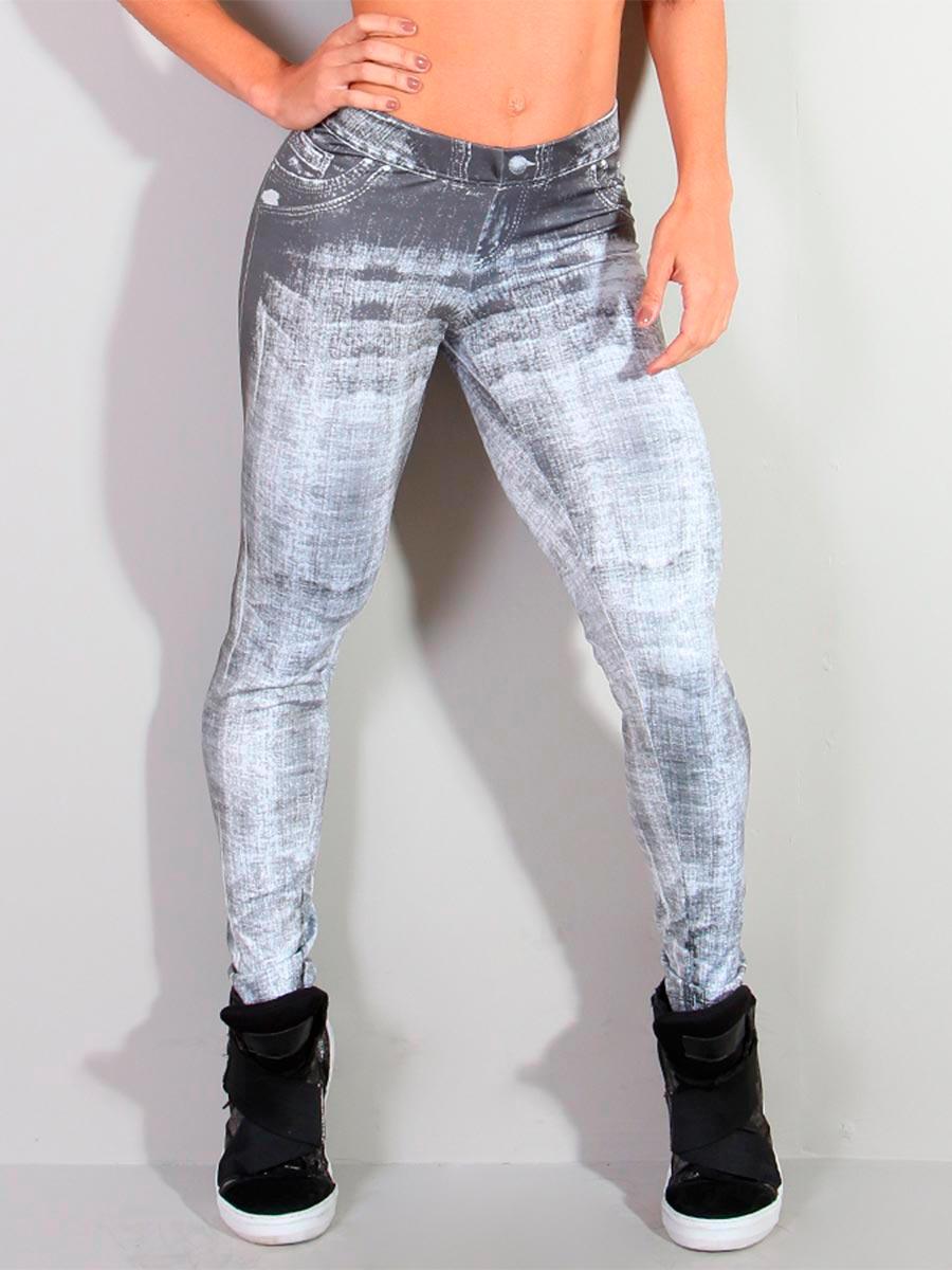 Calça Legging Jeans