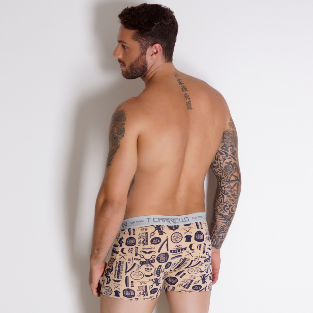 Kit Cueca Boxer Vin�cius c/ 4 Pe�as