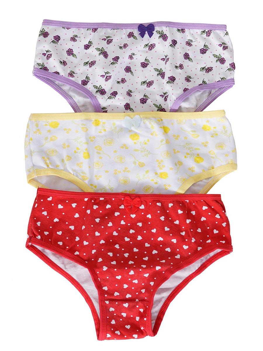 Kit Calcinha Infantil Conforto com 3 Peças