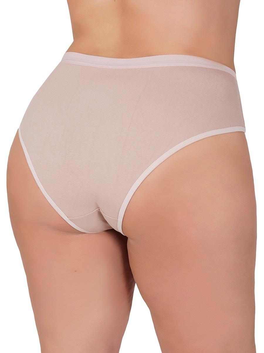 Tang�o Plus Size de Cotton Liso