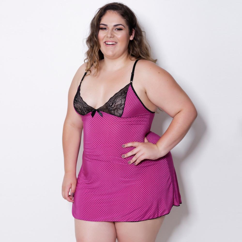 Camisola Patr�cia Plus Size