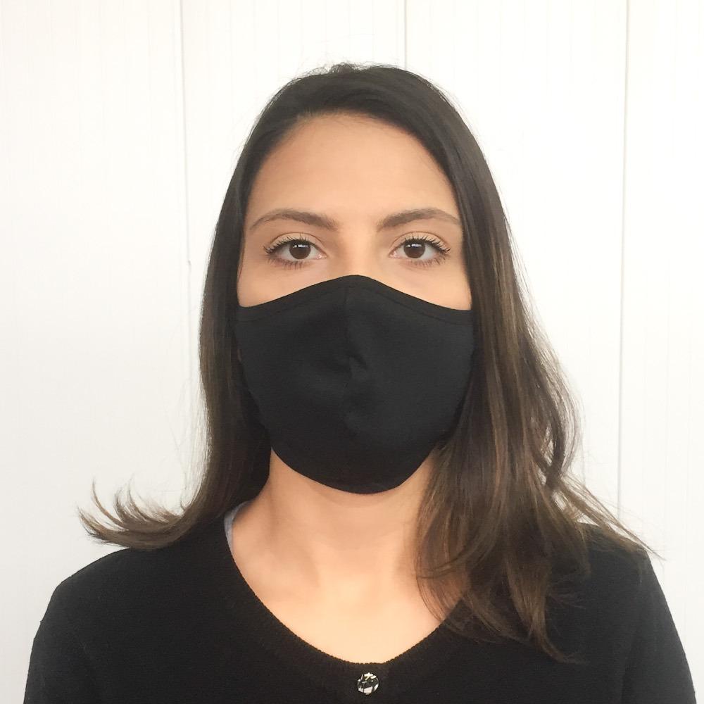 Máscara Adulto Camada Dupla 100% Algodão