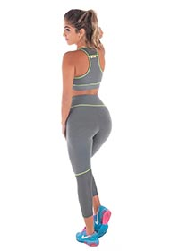 Calça Legging Fitness em Suplex de Poliamida