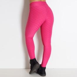 Calça Fitness Tecido Bolha