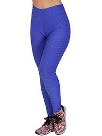 Calça Tecido Bolha Azul Bic