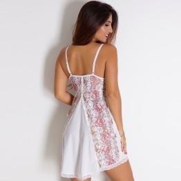 Camisola Noiva Rosas