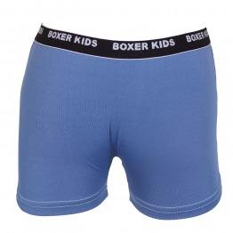 Cueca Boxer Infantil em Poliamida com Detalhe de Lista