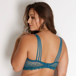 Sutiã Plus Size Strappy Back