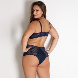 Conjunto Plus Size Hot Pant